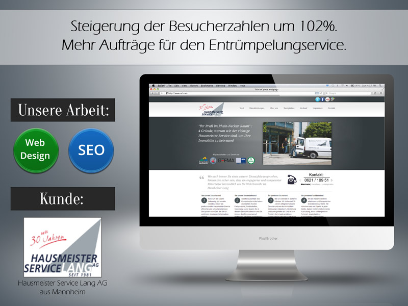 Hausmeister Service - Online-Marketing - SEO